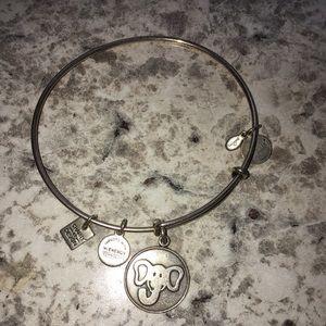 Elephant Alex & Ani bracelet